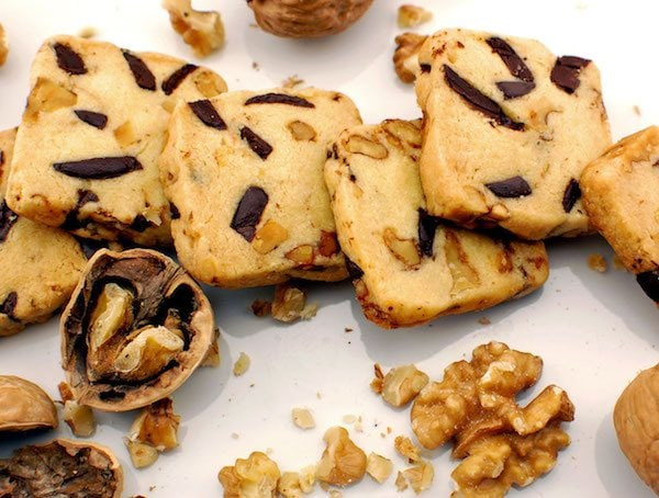 chocolate chip walnut icebox cookies giveaway on Just One Cookbook