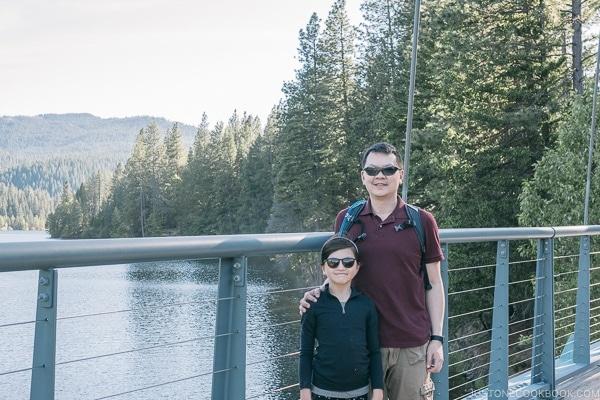 Wagon creek pedestrian bridge - Mount Shasta Travel Guide | justonecookbook.com