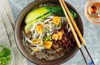Black Sesame Dan Dan Noodles 黒胡麻担々麺