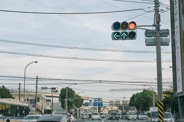 signal light - Guide to Driving in Japan | www.justonecookbook.com