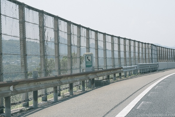 emergency phones on freeway - Guide to Driving in Japan | www.justonecookbook.com