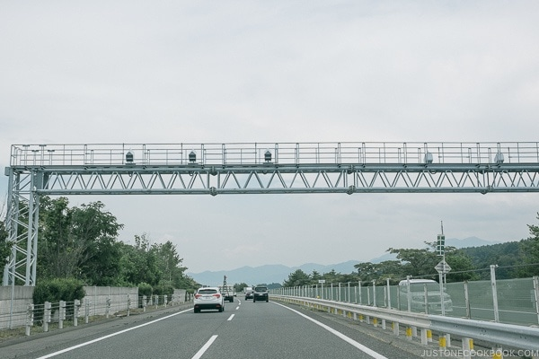 freeway camera - Guide to Driving in Japan | www.justonecookbook.com