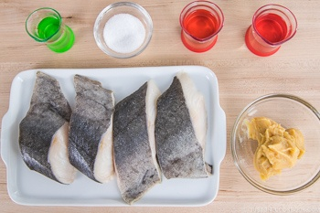 Miso Cod Ingredients