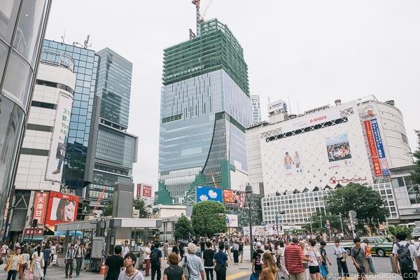 Shibuya stores - Tokyo Shibuya Travel Guide | www.justonecookbook.com