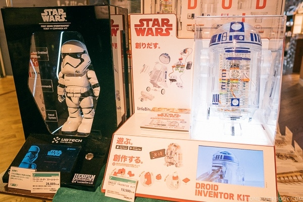 Star Wards Droid Inventor Kit at Tokyu Hands - Tokyo Shibuya Travel Guide | www.justonecookbook.com