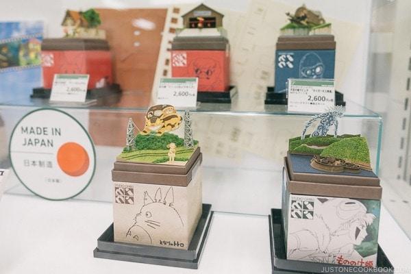Studio Ghibli paper cutout at Tokyu Hands - Tokyo Shibuya Travel Guide | www.justonecookbook.com