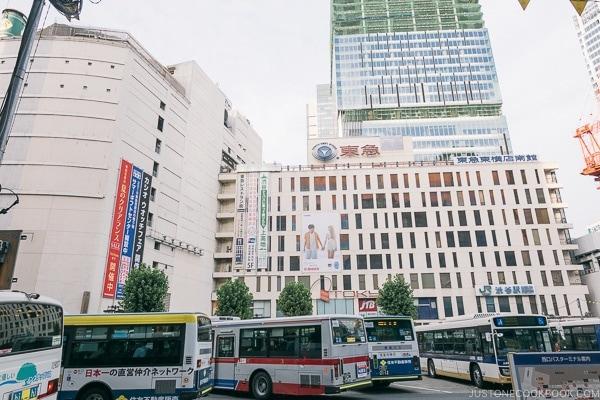 Tokyu Shibuya - Tokyo Shibuya Travel Guide | www.justonecookbook.com
