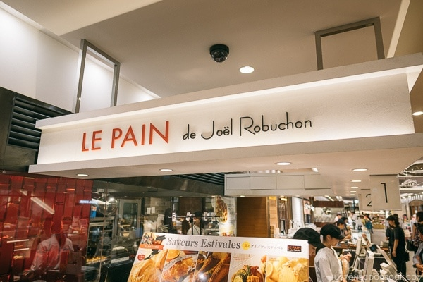 LE PAIN de Joël Robuchon Shibuya - Tokyo Shibuya Travel Guide | www.justonecookbook.com