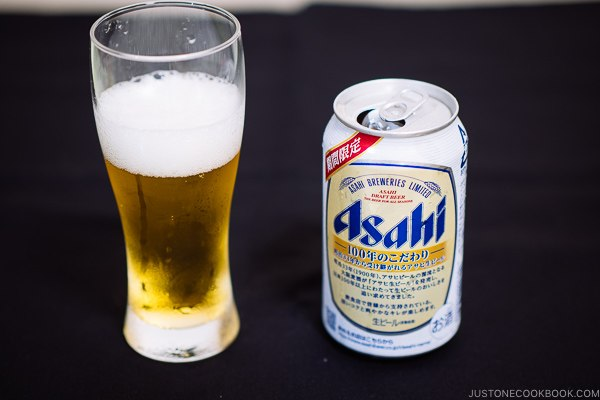 Asahi Limited Edition Draft Beer - Guide for Japanese Beer | www.justonecookbook.com