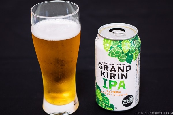 Grand Kirin IPA - Guide for Japanese Beer | www.justonecookbook.com