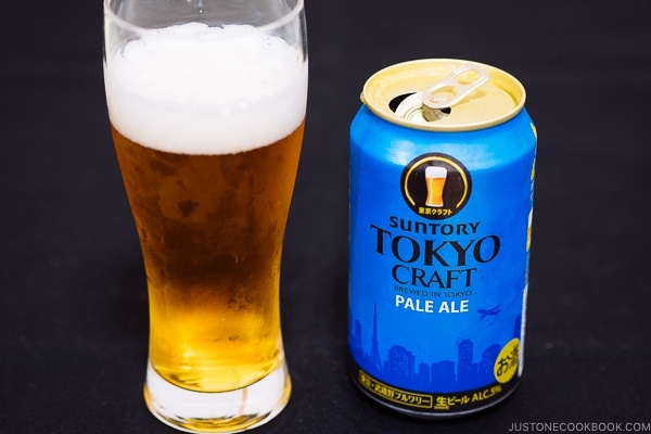 Tokyo Craft Pale Ale - Guide for Japanese Beer | www.justonecookbook.com