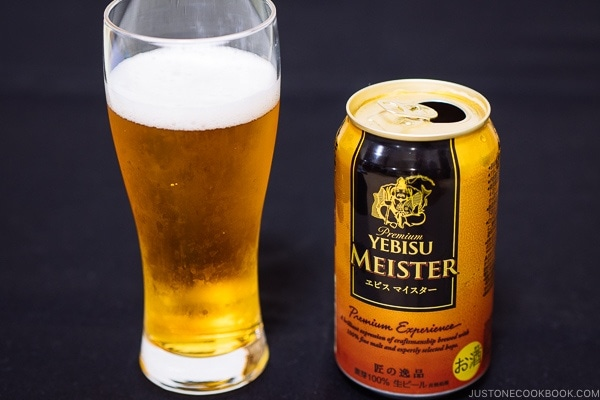 Yebusi Meister - Guide for Japanese Beer | www.justonecookbook.com