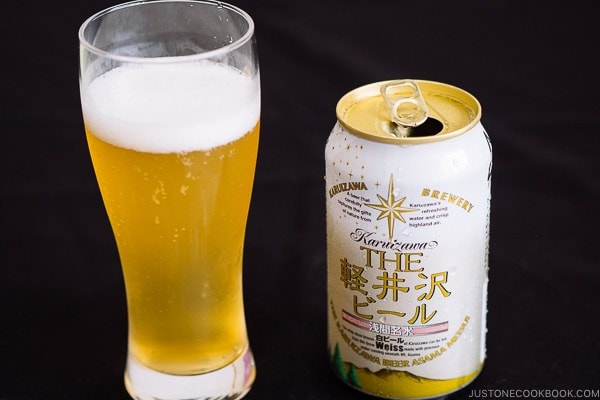 Karuizawa Weiss Beer - Guide for Japanese Beer | www.justonecookbook.com