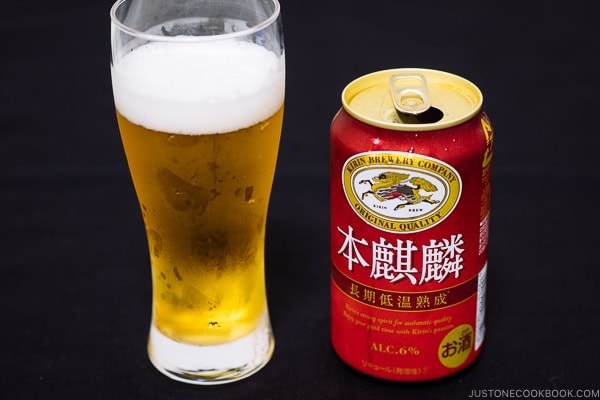 Hon Kirin Beer - Guide for Japanese Beer | www.justonecookbook.com