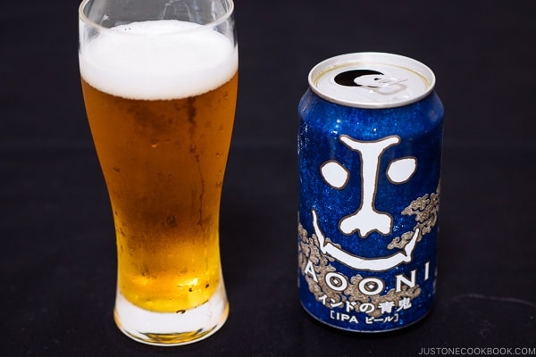 Aooni IPA - Guide for Japanese Beer | www.justonecookbook.com