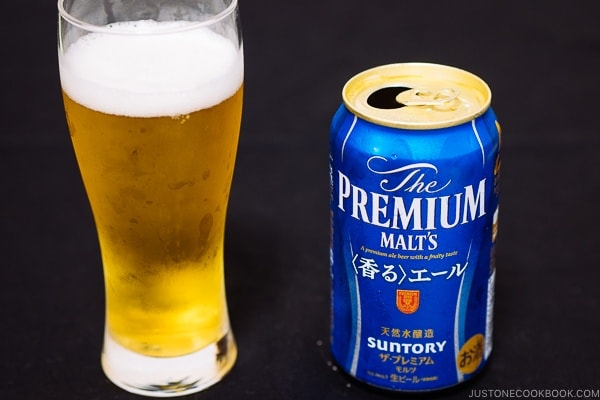 The Premium Malts - Guide for Japanese Beer | www.justonecookbook.com