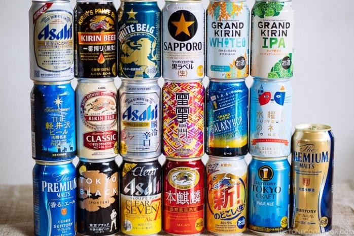 Japanese Beer Guide | www.justonecookbook.com