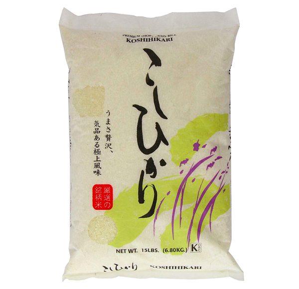 Best Japanese rice Shirakiku Rice Brand Koshihikari