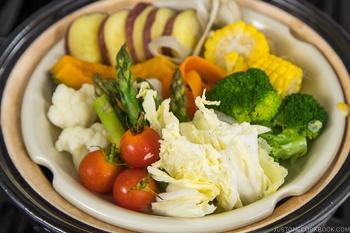 Steamed Vegetables 16