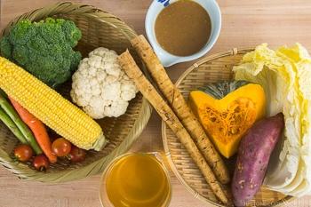 Steamed Vegetables Ingredients 2