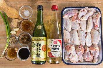Teriyaki Wings Ingredients