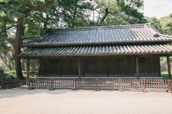 Dōshin Bansho Guardhouse - The East Gardens of the Imperial Palace Guide | www.justonecookbook.com