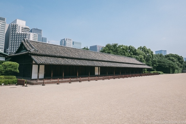 Hyakunin Bansho Guardhouse - The East Gardens of the Imperial Palace Guide | www.justonecookbook.com