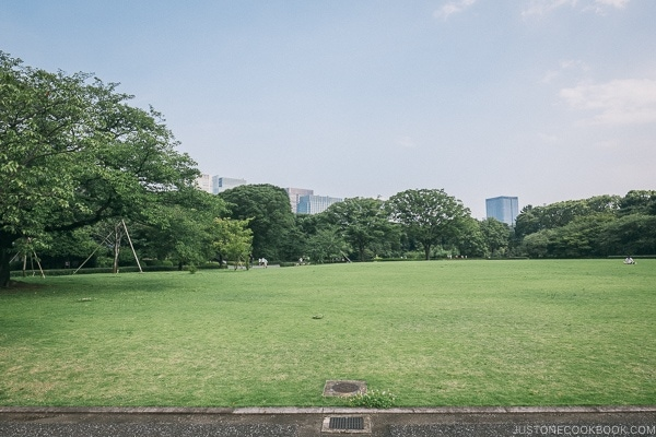 Site of Edo Castle Honmaru Goten - The East Gardens of the Imperial Palace Guide | www.justonecookbook.com