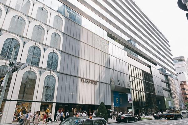 Ginza Six GSix Department Store - Tokyo Ginza Travel Guide | www.justonecookbook.com