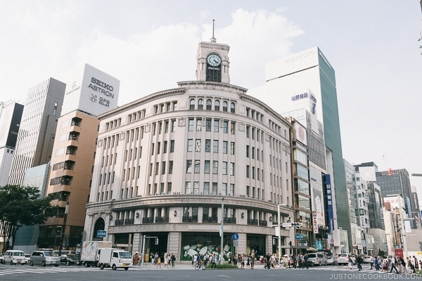Wako department store - Tokyo Ginza Travel Guide | www.justonecookbook.com