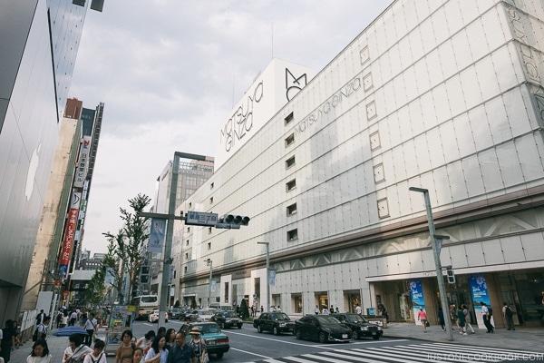 Matsuya Ginza - Tokyo Ginza Travel Guide | www.justonecookbook.com