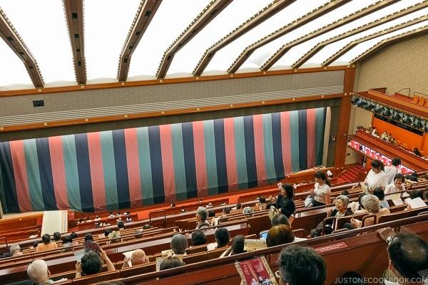 inside Kabukiza Theater - Tokyo Ginza Travel Guide | www.justonecookbook.com