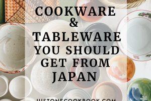beautiful Japanese ceramic cookware and tableware