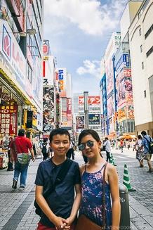 Just One Cookbook children at Akihabara - Akihabara Travel Guide | www.justonecookbook.com
