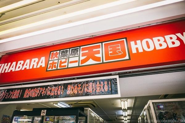 Volks Akihabara Hobby Store - Akihabara Travel Guide | www.justonecookbook.com
