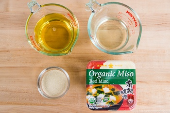 All-Purpose Miso Sauce Ingredients