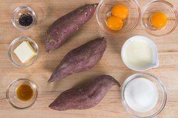 Japanese Sweet Potato Ingredients