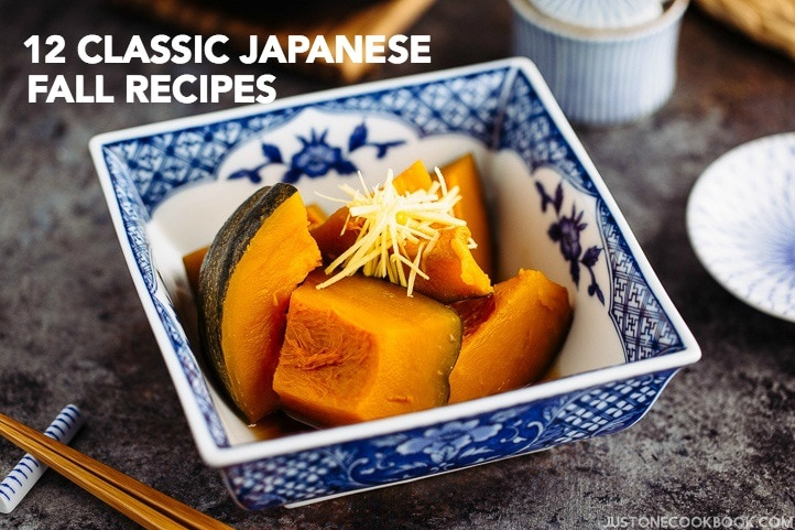 12 Classic Japanese Recipes to Make This Fall