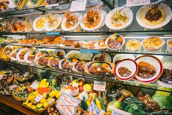 sample plastic food - Tokyo Kappabashi Guide | www.justonecookbook.com