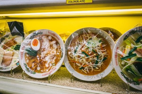 plastic ramen - Tokyo Kappabashi Guide | www.justonecookbook.com