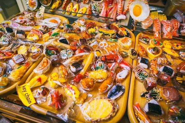 plastic food key chain - Tokyo Kappabashi Guide | www.justonecookbook.com