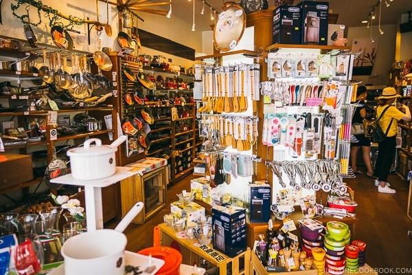 western kitchen tools shop - Tokyo Kappabashi Guide | www.justonecookbook.com