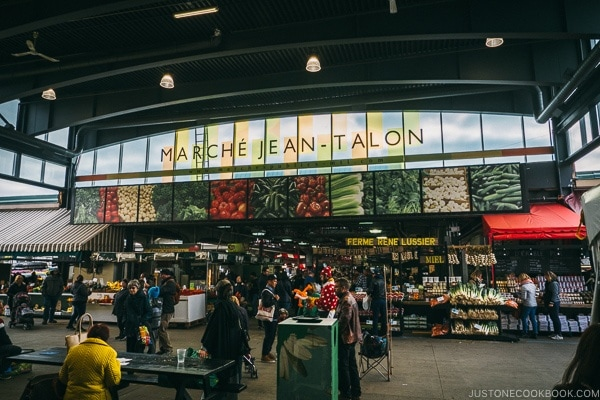 Marche Jean-Talon - Montreal Travel Guide | www.justonecookbook.com