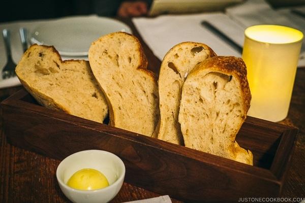 bread at BOUILLON BILK - Montreal Travel Guide   www.justonecookbook.com
