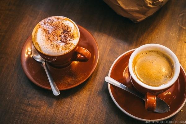 coffee at Café Olimpico - Montreal Travel Guide   www.justonecookbook.com