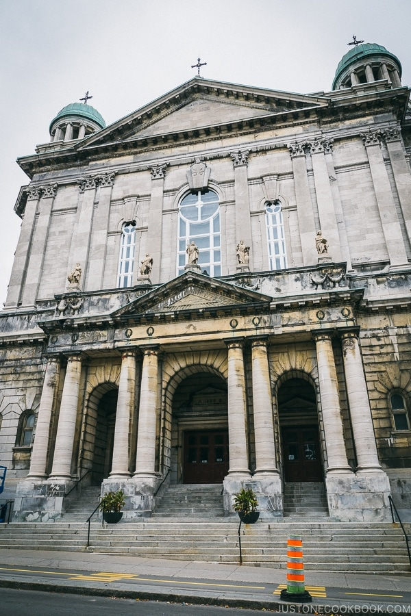 Paroisse Saint-Jean-Baptiste - Montreal Travel Guide | www.justonecookbook.com