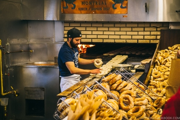 St-Viateur Bagel Shop - Montreal Travel Guide   www.justonecookbook.com