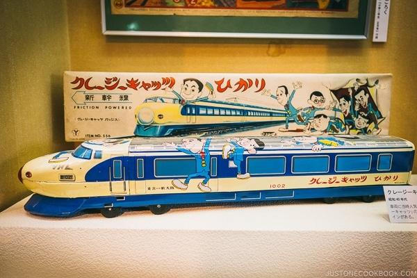 antique toy train - Tokyo Shitamachi Museum Guide | www.justonecookbook.com