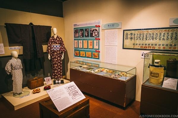 antique clothing - Tokyo Shitamachi Museum Guide | www.justonecookbook.com