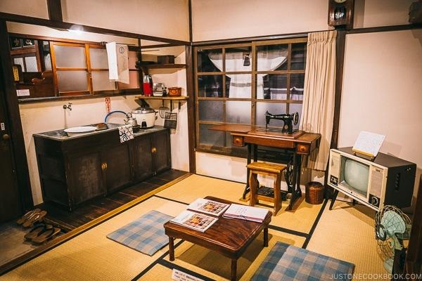 replica kitchen - Tokyo Shitamachi Museum Guide | www.justonecookbook.com